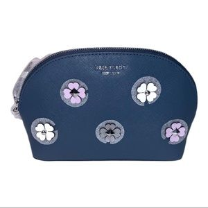 Kate Spade New York Leather Cameron Cosmetic Case